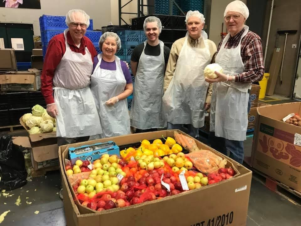 Oregon Food Bank Volunteering
